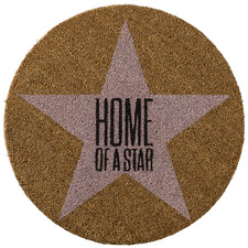 Home Of A Star Coir Doormat