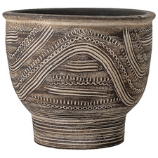 Brown Zuma Terracotta Planter