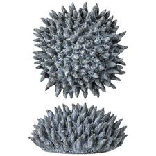 Blue Ceramic Decorative Sea Urchin