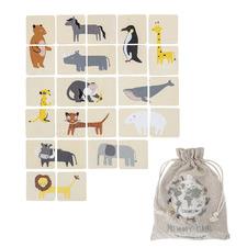 Kids' Animal Memory Game Set