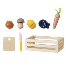 Wooden Food Toy Set