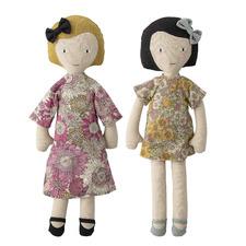 Kids' 2 Piece Cotton Doll Set