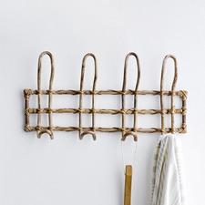 Natural Cane Coat Hanger