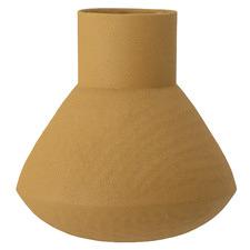 Yellow Isira Metal Vase