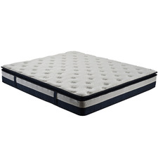Medium Latex Pillow Top Pocket Spring Mattress