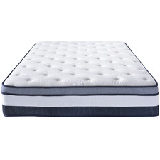 Plush Euro Top Memory Foam Mattress