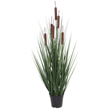 85cm Potted Faux Grass