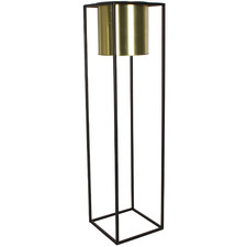 Tall Cubo Flower Metal Plant Pot Holder