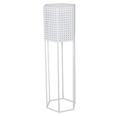 Aliz Hexagon Metal Plant Stand