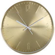 32cm Gold Stockholm Metal Wall Clock