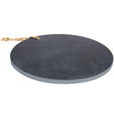Round Lovina Stone Serving Tray