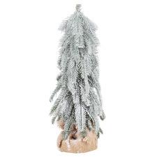 Snowy Christmas Tree Ornaments (Set of 2)