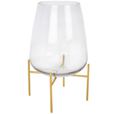 Bella Glass Vase with Stand