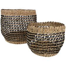 2 Piece Blake Seagrass Basket Set