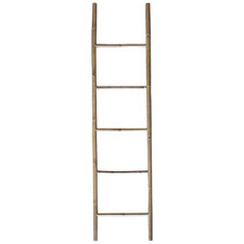 Bukit Vertical Bamboo Ladder Towel Rail