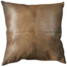 Bangalow Faux Leather Cushion