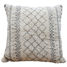 Cream & Black Inspo Cotton Cushion