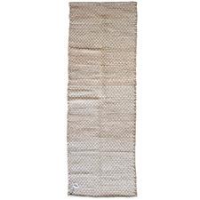 Brown Tasko Hand Made Cotton Runner