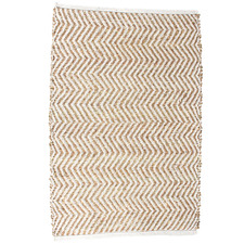 Natural Gala Chevron Hand-Knotted Seagrass Rug