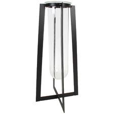 Black Beaker Cress Metal Plant Stand