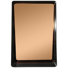 Bagi Copper-Coloured Rectangular Wall Mirror