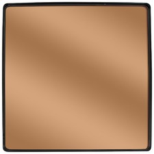 Bagi Copper-Coloured Square Mirror