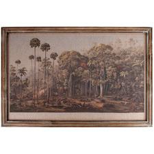 Vintage Forest Framed Canvas Wall Art