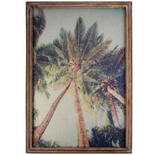 Vintage Summer Framed Canvas Wall Art