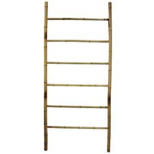 Natural Bukit Bamboo Display Ladder