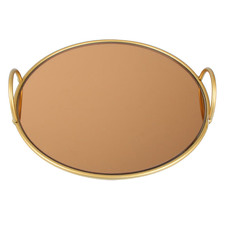 Gold Delphine Stainless Steel Tray