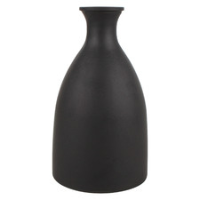 Ebony Ceramic Vase