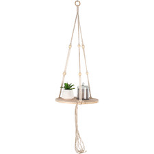 Macramé Drake Hanging Display Shelf