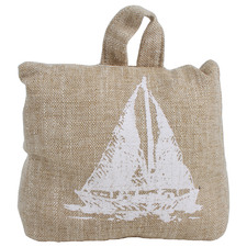 Natural Sea Yacht Cotton Doorstop
