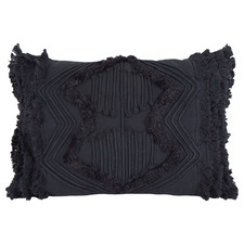 Fringed Jethro Cotton Cushion