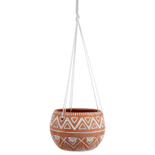 Abdou Terracotta Hanging Pot