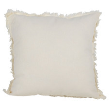 Fringed Ripley Square Cotton & Linen Cushion
