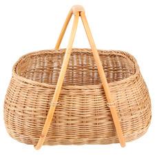 Natural Bernie Rattan Basket