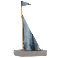 Escape Sailing Boat Decorative Ornament