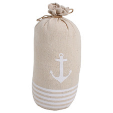 Natural Sea Tie Down Cotton Doorstop