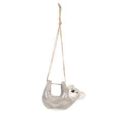Koala Ceramic Hanging Pot Planter