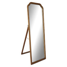 Medium Timber Melrose Dressing Mirror