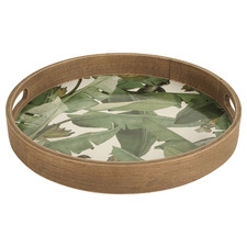 Lucaz Jungle 30cm Round Serving Tray