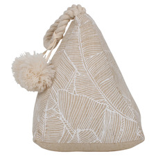 Cream Beau Cotton Doorstop