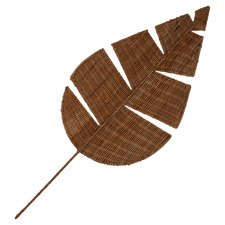 Kiandra Leaf Rattan Decorative Ornament