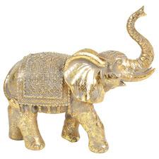 Gold Nels Elephant Decorative Ornament
