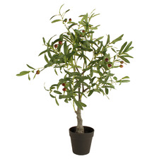 85cm Potted Faux Olive Tree