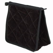 Tiffany Quilted Velvet Cosmetics Pouch
