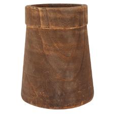 Ulla Paulownia Wood Vase