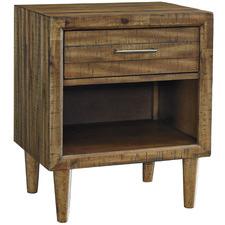 Medium Timber Broshtan Bedside Table