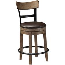 62cm Medium Timber Pinnadel Barstool